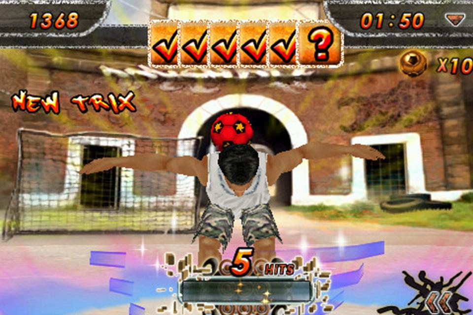 Screenshot iSoccer Backstreet